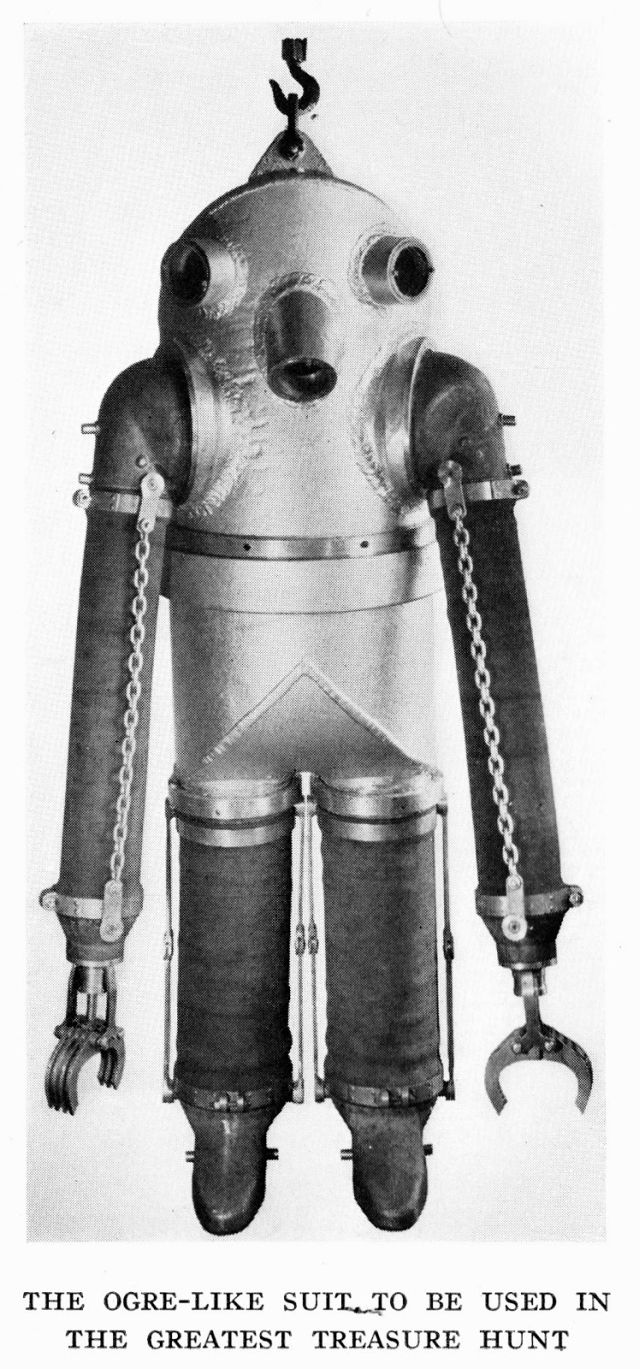 1934 deep sea diving suit
