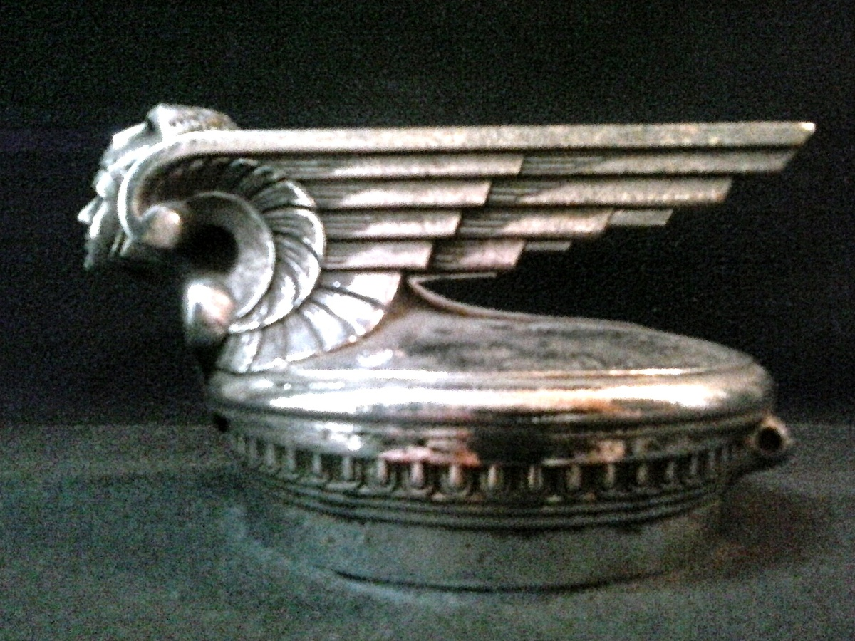 chevrolet winged viking radiator cap
