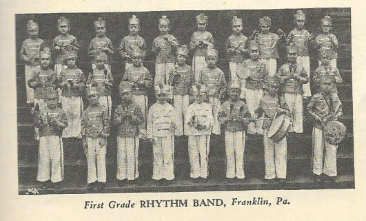 SCAN 1st grade ryhthm band