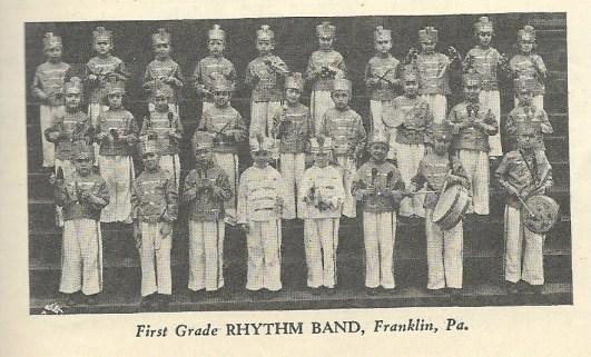 SCAN 1st grade ryhthm band