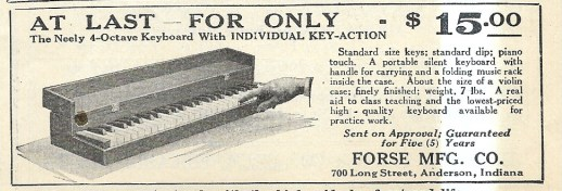 SCAN POrtable practic keyboard