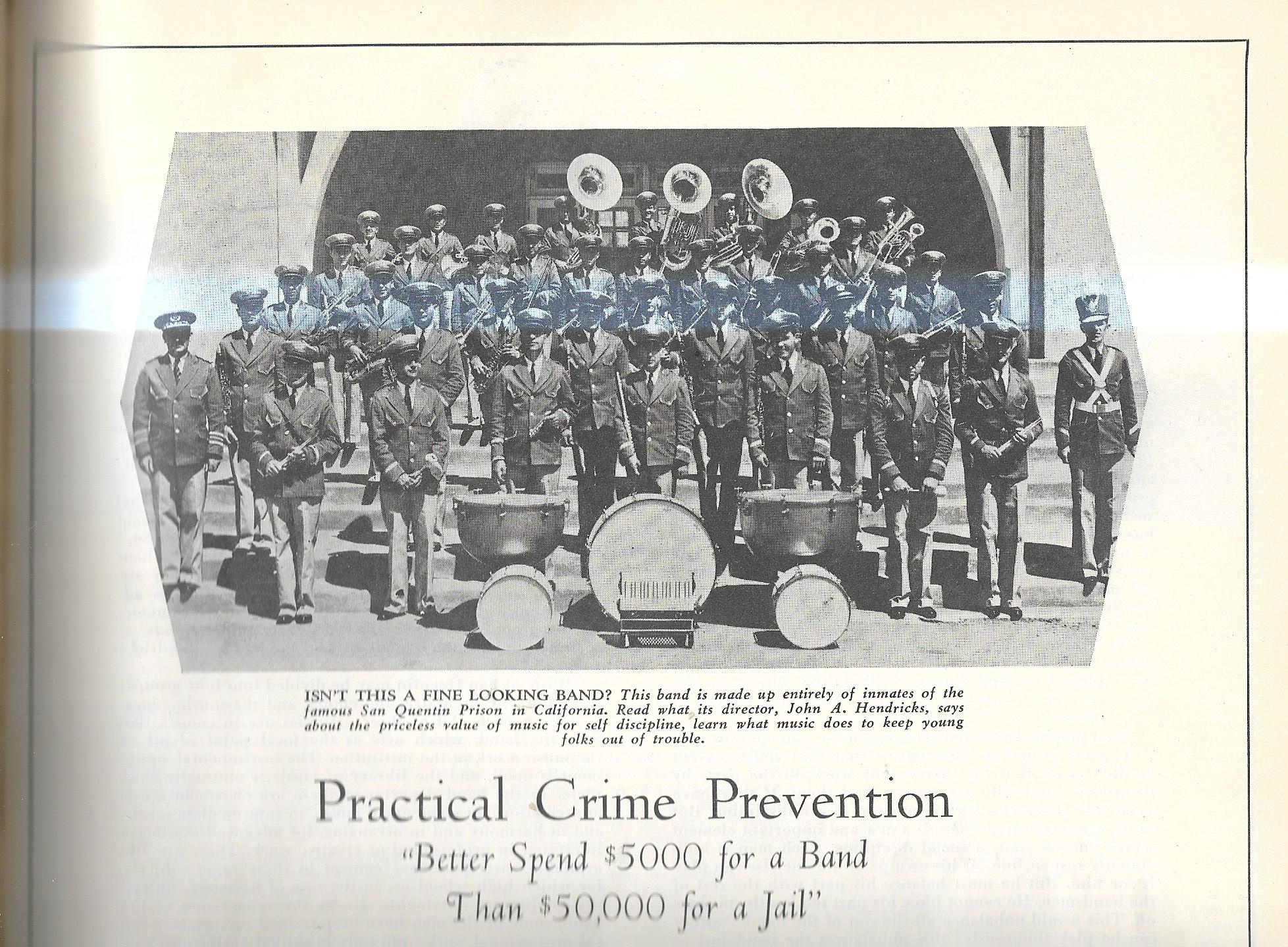 SCAN PRISON BAND