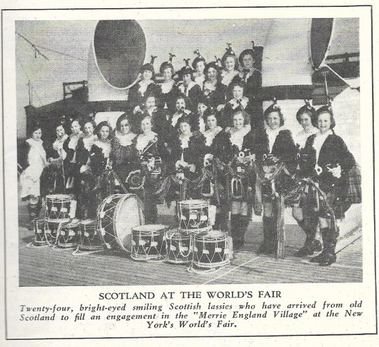 SCAN SCOTTISH WOMEN'S BAND Wolrd's Fair