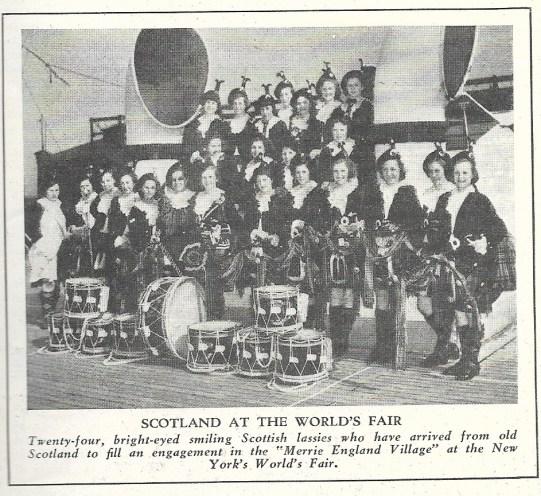 SCAN SCOTTISH WOMEN'S BAND Wolrd's Fair