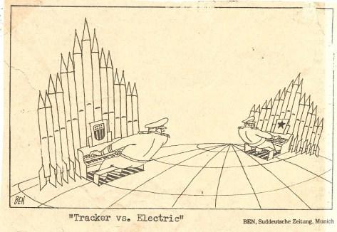Tracker vs. Electric