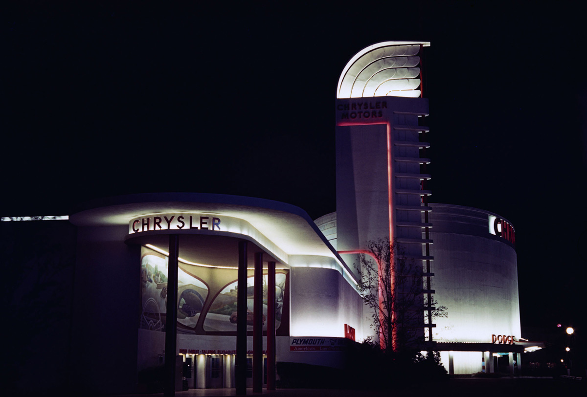 Chrysler Pavilion at 1939 World's Fair